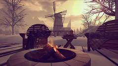 Winter Windmill (Wendy Lipovsek) Tags: heavenly groove heavenlygroove winter wonderland second life secondlife sl winterscene