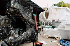 Jurassic Park (MikeA66) Tags: asia chiangmai dinosaurs styrofoam thailand travel fujifilm xt2 fuji