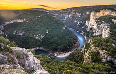 Gorges de l'Ardche (Lud0fr) Tags: water sunset amazing sony a7r 1635 ardche france cliffs belvedere life travel