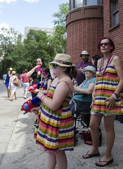 Mother and Daughter - D7K_5931_ep (Eric.Parker) Tags: march pride toronto dyke lesbian nudity parade 2016 breast naked breasts topless publicnudity public candid nude gender gay homosexual lgbtq facepaint mother daughter watergun squirtgun