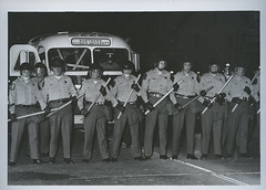Student Demonstrations Police Lincoln Hwy, May 1970 (Regional History Center & NIU Archives) Tags: boycott demonstration protest niu northernillinoisuniversity student activism