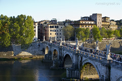 """Castel Sant'Angelo, ponte Sant'Angelo • <a style=""""font-size:0.8em;"""" href=""""http://www.flickr.com/photos/89679026@N00/6952412296/"""" target=""""_blank"""">View on Flickr</a>"""