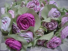 Quinta flor (Sweet by Carla) Tags: quintaflor flordetecido rosadetecido