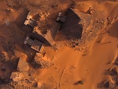 Meroe Archaeological Site X - R45906m (opaxir) Tags: archaeology pyramid sudan aerial kap nubia kush meroe meroitic