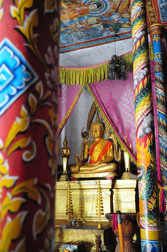 Buddha at Neang Kok Temple, Koh Kong