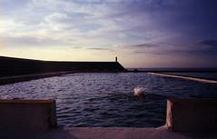 A Smaller Splash | 2010 (PaulFitzPhotographs) Tags: film analog 35mm newcastle baths 2010 paulfitzgeraldphotographs