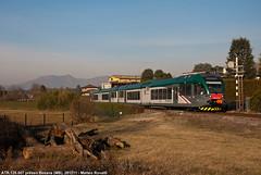 Tramonto in campagna (Matteo Rovatti) Tags: train trains lombardia besana treni atr125