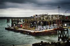 Deserted (_Amritash_) Tags: sea abandoned seaside iron unitedkingdom floating rusted southampton deserted hdr floatingdock disregarded d7000 ignoredleftaloneneglecteduntended