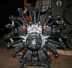 Wright R-790 Radial Engine (dlberek) Tags: dwf birdofparadise aircraftengine radialengine goldenageofaviation nationalmuseumoftheusairforce fokkertrimotor vintageengine antiqueengine wrightr790 wrightj5whirlwind aircraftpowerplant aviationartifact daytonwrightfield