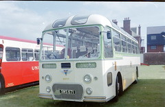 5-17-2013_041.SWS 671 AEC Reliance Alexander Scottish Omnibuses (SMT) (ronnie.cameron2009) Tags: people buses coach rally scottish traveller restored passenger preserved coaches rallies aec scottishbusgroup passengertransport scottishomnibuses vehiclerally stagejourney restoredpreserved