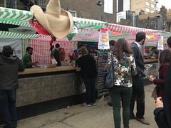line-up from street food favourites (yumtan) Tags: london tacos event taco wars