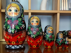 Matrioshka 1992 (Cold War Warrior) Tags: russia matryoshka russiandoll