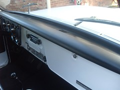 71K5Blazer_2k_dash (Monaco Luxury) Tags: auto bar 1971 ps pb stereo chevy 350 roll custom blazer resto k5 pristine frameoff