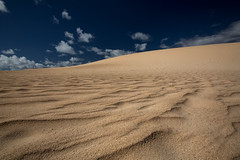 Dune (Gatria) Tags: africa light sky cloud 3 clouds canon islands licht spain sand mark iii fuerteventura dune clear ii grandes l afrika 5d 28 canary ef mk playas spanien 2470mm kanarische inseln
