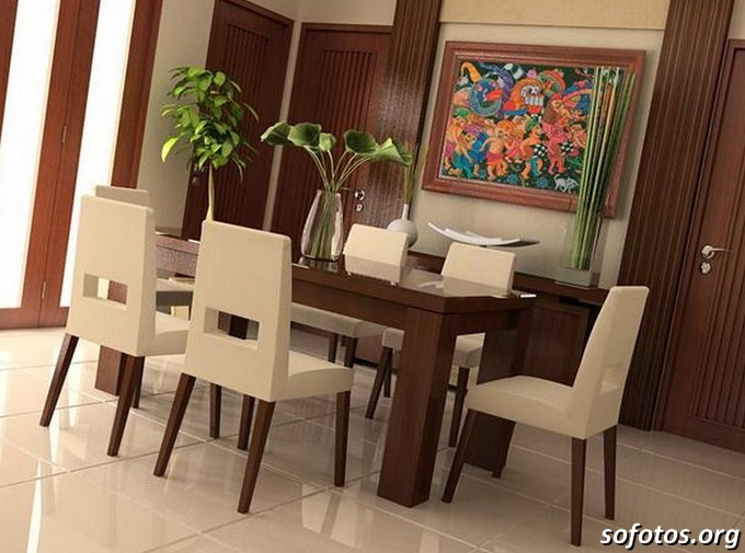 Salas de jantar decoradas (84)