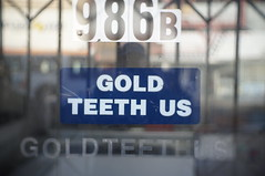 gold teeth us (jephfoust) Tags: 35mm cctv f17 fotasy