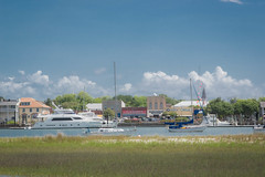 Beaufort, From Across Taylors Creek (Marc_714) Tags: sky sailboat nc yacht northcarolina beaufort taylorscreek marc714 clawsons