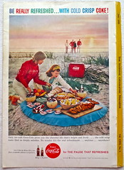 1959 - 1950s Vintage Coca Cola Advertisement From National Geographic Back Page 47 (Christian Montone) Tags: vintage ads advertising coke americana soda cocacola advertisements sodapop vintageads vintageadvert