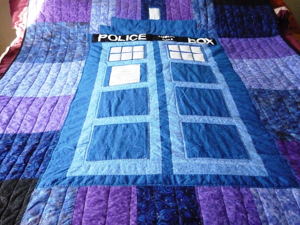 best of gallery crafts tardis quilt the world s best photos of drwho and quilt flickr hive mind 343