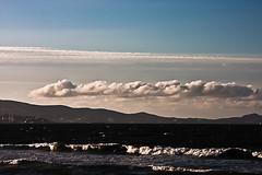 vagues et nuages (zekro) Tags: paysages