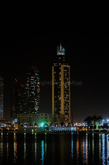 Dubai (Amani Alhjaji) Tags: world fountain night mall dark photography dubai cities arab مدينة دبي تصوير modren مول نيكون ليلي النافورة bigges حديثه nikond5100
