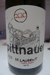 red-st laurent-austria-pittnauer-2011-12-7 (craigjam) Tags: red austria bottle wine label stlaurent