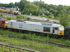 60006 Toton 08/06/2013 (37686) Tags: 5 66 class type tug 60 midlands ews toton railfreight dbschenker
