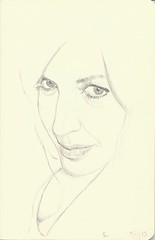 sabrina 5-11-13 (Stephen Ford art) Tags: portrait pencildrawing