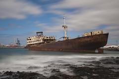 SHIPWRECK PORT OF ARRECIFE (Giuseppe Baldan) Tags: