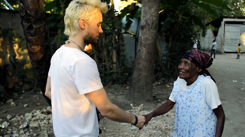 Jared Leto in Haiti, 2010