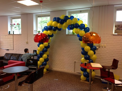 Ballonboog 6m Cosmicus College Rotterdam