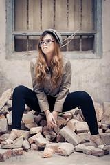 DSC00427 (inkid) Tags: light portrait girl fashion vintage f14 85mm sigma jess ambient