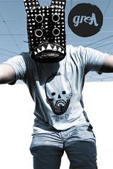 error (-grell streetwear-) Tags: fashion switzerland screenprint mask tshirt bern tee streetwear graphicshirt grell grellstreetwear