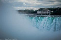 Niagara Falls (Mike Swiech) Tags: bridge people mist bird water sunshine rain clouds photography niagarafalls rainbow log nikon rocks ship drop tourist casino niagara falls rapids waterfalls gorge flowing maidofthemist barge 70200vr2 mikeswiechphotography