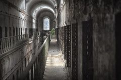 Upper Cell Block (wsquared photography & creative) Tags: philadelphia decay prison easternstatepenitentiary