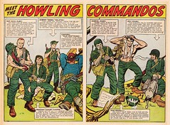 Sgt Fury and his Howling Commandos #03 by Jack Kirby (Derek Langille) Tags: art comics jack spread dc kirby comic nick double page marvel fury jackkirby sgt howling commandos