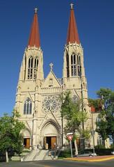 Cathedral of Saint Helena (Helena, Montana) (courthouselover) Tags: montana mt churches helena greatplains ushighway287 lewisandclarkcounty