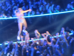 """Miley Cyrus performing """"We Can't Stop"""" / """"Blurred Lines""""  at the MTV VMA Video Music Awards at the Barclays Center in Brooklyn, New York City (RYANISLAND) Tags: show nyc newyorkcity music usa ny newyork celebrity art fashion brooklyn america video artist famous fame creative culture award style pop event american artists mtv celebrities awards popculture videos musicvideo vma mtvvma videomusicawards vmas musicindustry mtvvmas musicvideoawards awardsshow videomusicaward muscivideos"""