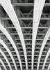 Girdles - Blackfriars Rail Bridge (BW) (markdbaynham) Tags: bridge bw white black london lens prime f14 sigma rail structure blackfriars 30mm girdles