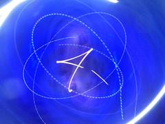 Four minus (waruzm) Tags: blue four cameratoss icm intentionalcameramovement