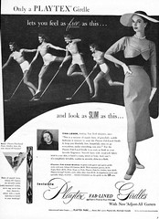 62 1952 (Undie-clared) Tags: girdle playtex fablined