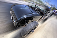 Zooomin' Highboy (dmentd) Tags: ford 1932 hotrod streetrod topaz roadster sliderssunday