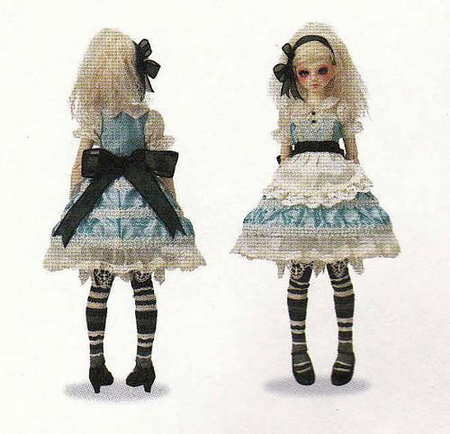 1/4 MSD BJD Unoa Doll Alice in Wonderland theme Lolita Dress ...