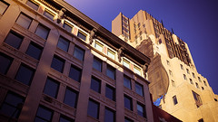 Positively West 18th Street, Manhattan, Autumn (Jeffrey) Tags: city nyc newyorkcity urban newyork building buildings grid design october chelsea manhattan cities 18thstreet urbanism flatiron gramercy