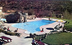 Tanque Verde Guest Ranch Tucson AZ (Edge and corner wear) Tags: arizona vintage photography hotel pc inn ray photographer postcard motel az lodge commercial motor aaa manley