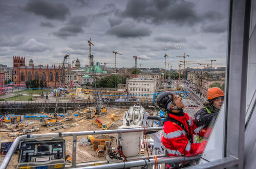 Construction Site Workers in Berlin