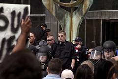 IMG_7199 (Wespennest) Tags: ohio demo spring cops nazi nazis protest police demonstration toledo armor april riotpolice riotcops neonazis nsm bodyarmor jeffschoep nationalsocialistmovement kenkrause