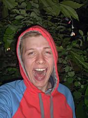 New Rave selfie (Gary Kinsman) Tags: party selfportrait london fashion night houseparty hoodie flash dalston 2007 n16 selfie newrave belgraderoad