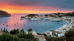 Port de Soller 1500px (Craig Hollis) Tags: blue sunset beach night port de golden twilight hour mallorca majorca soler peurto
