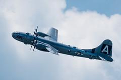 Boeing B-29 Superfortress 800_8106 (Ron Freudenheim) Tags: washingtondc airplanes worldwarii b29 superfortress boeingb29superfortress arsenalofdemocracy worldwariiairplanes nikon70200f28vrii nikond800e vinatgeairplances